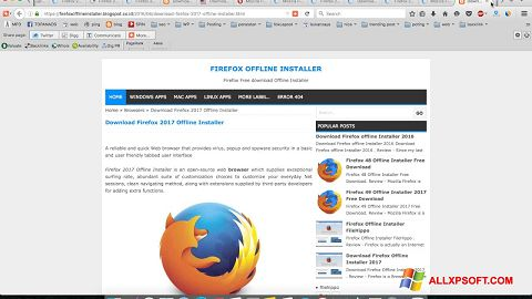 free download latest version of mozilla firefox for windows xp