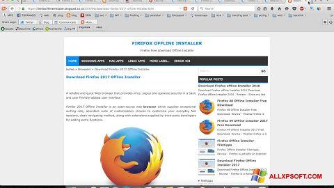 Screenshot Mozilla Firefox Offline Installer for Windows XP