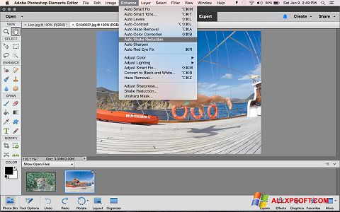 Screenshot Photoshop Elements for Windows XP