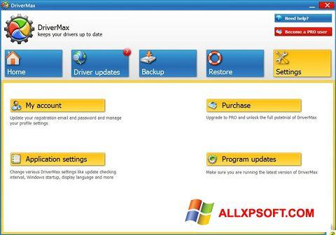 Screenshot DriverMax for Windows XP