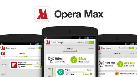 Screenshot Opera Max for Windows XP