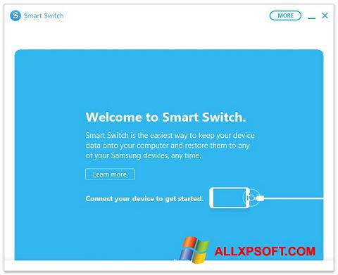 Screenshot Samsung Smart Switch for Windows XP