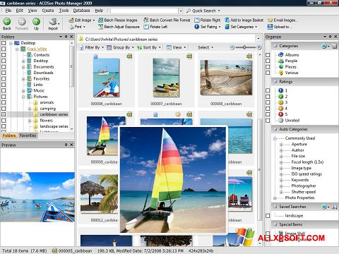 Screenshot ACDSee Photo Manager for Windows XP