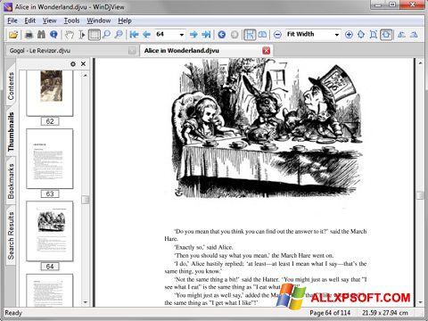 Screenshot DjView for Windows XP