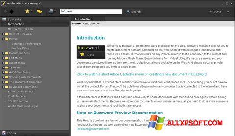 Screenshot Adobe AIR for Windows XP