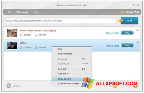 free video downloader software for windows xp