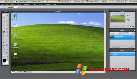 Screenshot LightShot for Windows XP