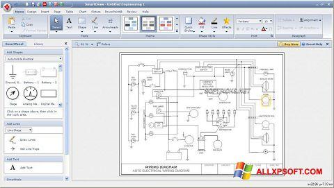 Screenshot SmartDraw for Windows XP