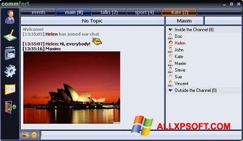 Screenshot CommFort for Windows XP