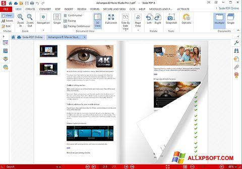 Download Soda PDF for Windows XP (32/64 bit) in English