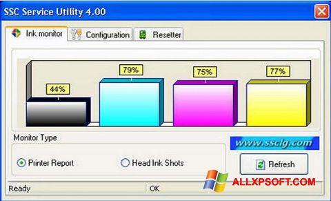 Screenshot SSC Service Utility for Windows XP