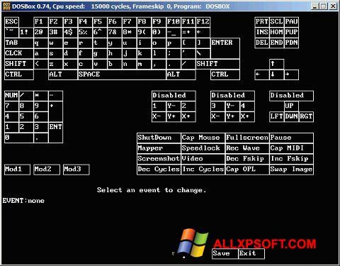 Screenshot DOSBox for Windows XP