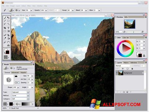 Screenshot Artweaver for Windows XP