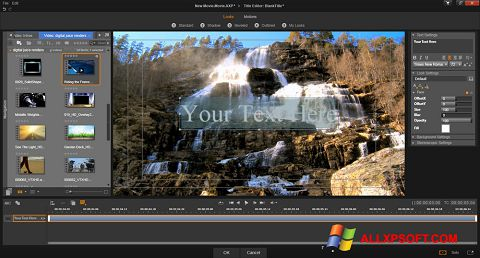 Screenshot Pinnacle Studio for Windows XP