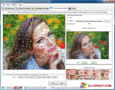 Screenshot Photo Collage for Windows XP