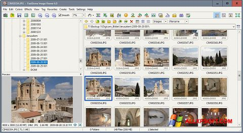 Screenshot FastStone Image Viewer for Windows XP