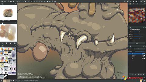 Screenshot MyPaint for Windows XP