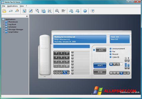Screenshot VentaFax for Windows XP