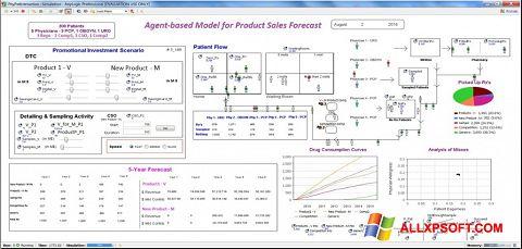 Screenshot AnyLogic for Windows XP