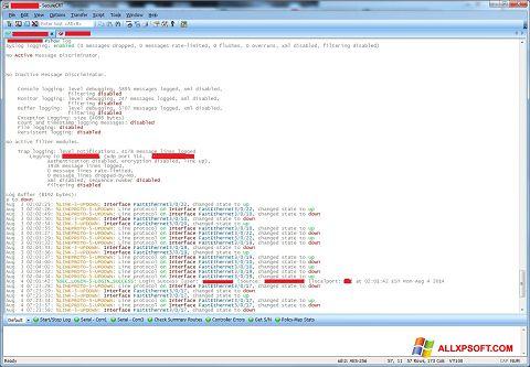 Screenshot SecureCRT for Windows XP