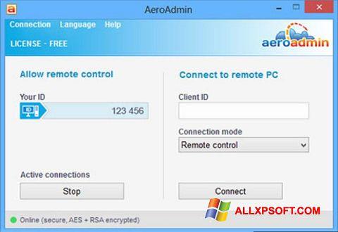 Screenshot AeroAdmin for Windows XP