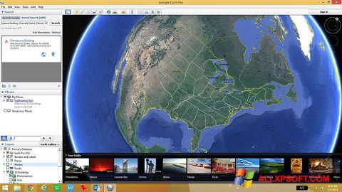Screenshot Google Earth for Windows XP